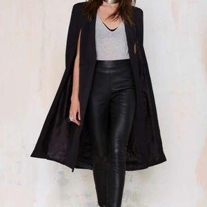 Lavish Alice Black Cape Jacket